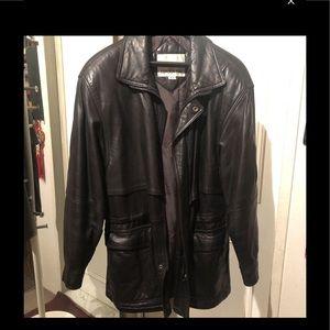 London Fog Genuine Leather Jacket